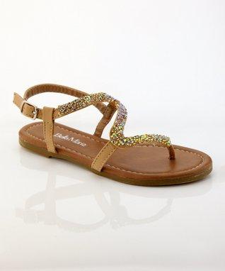 Tan Meimei Sandal
