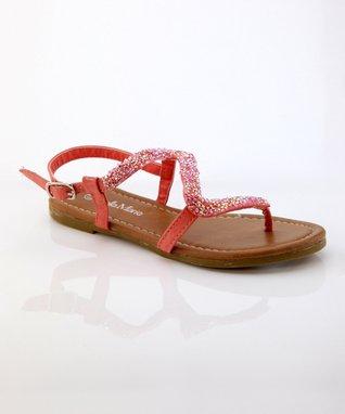 Coral Meimei Sandal