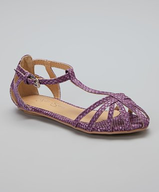 Lilac Caged Sandal