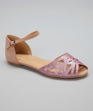 Pink Glitter Sandal