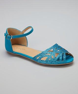Gold Rhinestone Sandal