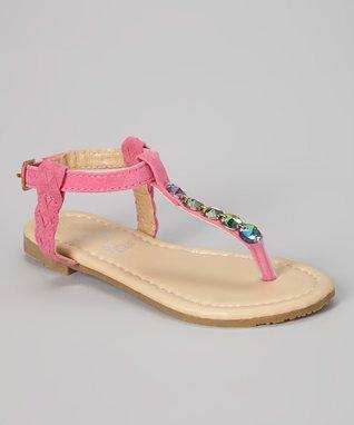 Pink Gem Sandal