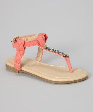 Coral Gem Sandal