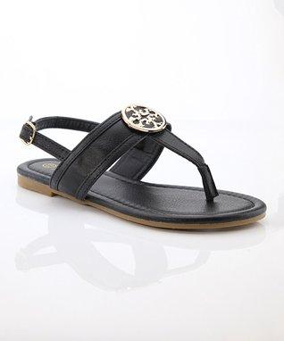 Black Vita Sandal