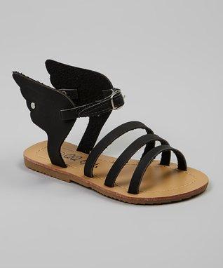 Camel Rhinestone Strap Sandal