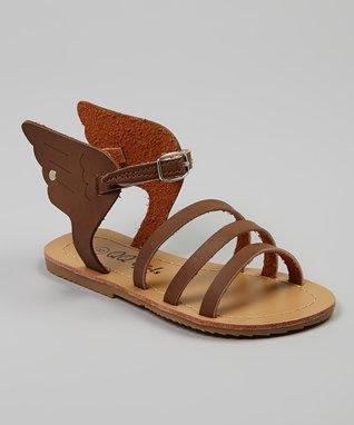 Blush Peep-Toe Sandal