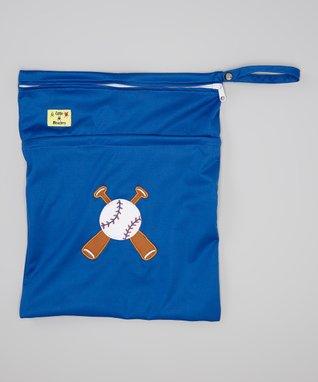 Little Monsters Blue Wet Bag