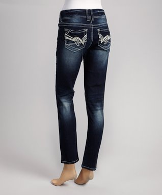 Wallflower Clothing Company Sky Belted Curvy Bootcut Jeans