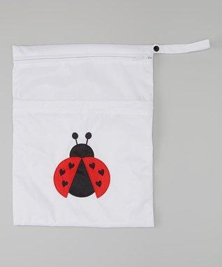 Little Monsters Brown Wet Bag