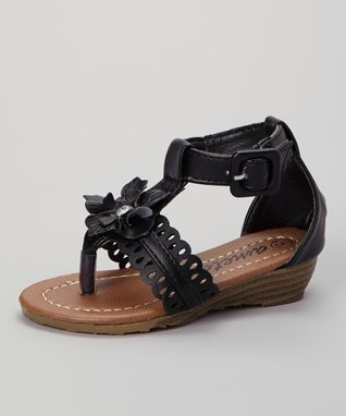 Tan Bella T-Strap Sandal