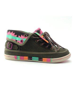 TigerBear Republik Olive Tribal Speakeasy Sneaker