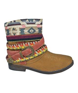 TigerBear Republik Black Cowboy Lace Cash Boot