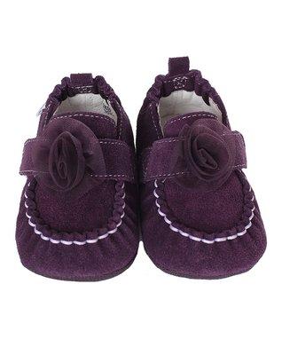 Purple Flower Fancy Pants Bootie