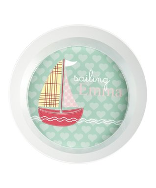 Out to Sea Personalized Plate