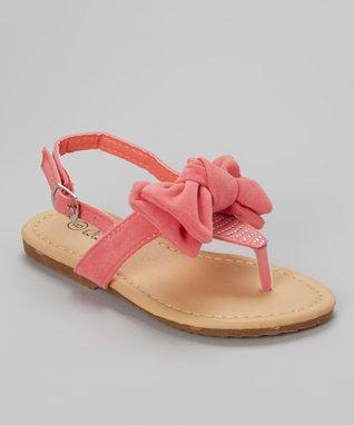 Tan Cross-Strap Sandal