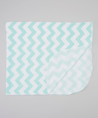 Orchid Zigzag Swaddling Blanket