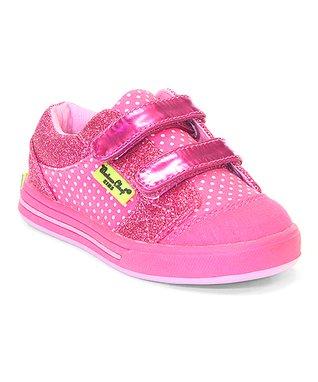 Chatties Pink & Blue Pig Slip-On Sneaker