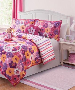 Black & White Zebra Laken Comforter Set