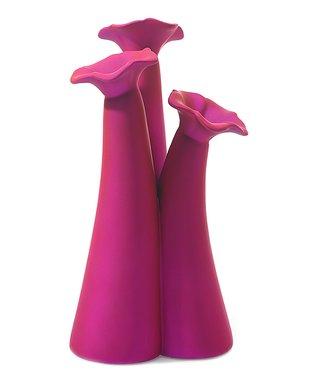 Fuschia Perennial Vase