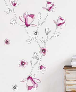 Pink Cutout Vase
