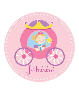 Pink Paisley & Whimsy Personalized Place Mat Set