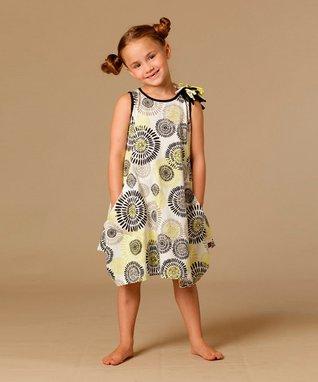 White Dandelion Mary Dress - Toddler & Girls