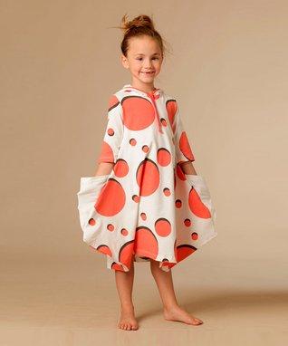 White Abigail Dress - Toddler & Girls