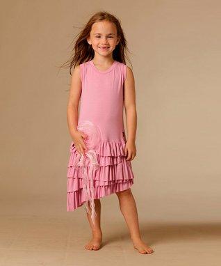 Party Pink Mia Dress - Toddler & Girls