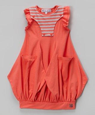 Aqua Kendra Dress - Toddler & Girls