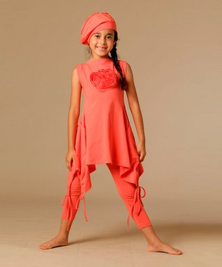 Coral Hanna Tunic - Toddler & Girls