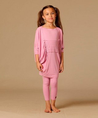 Coral Dora Dress - Toddler & Girls