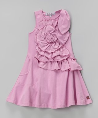Party Pink Emma Dress - Toddler & Girls