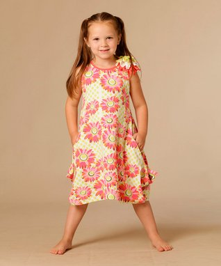 Coral Zoe Tunic - Toddler & Girls