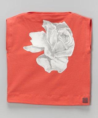 Coral Rose Top - Toddler & Girls