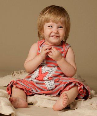 White Little Lady Star Dress - Infant