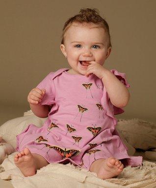 White Zinnia Dress - Infant & Toddler