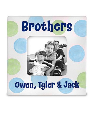 'Brothers' Personalized Photo Frame