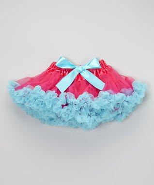 Raspberry & Cotton Candy Pettiskirt - Toddler & Girls