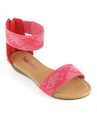 Strawberry Ankle Strap Sandal