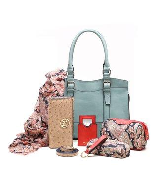 emilie m. Mist Buckle Jane Satchel & Essentials Kit