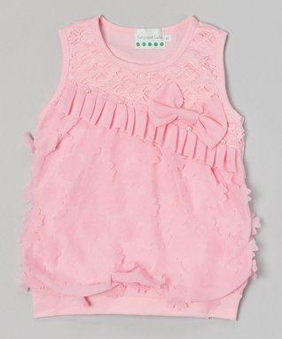 Red & Black Heart Tulle Dress - Infant, Toddler & Girls