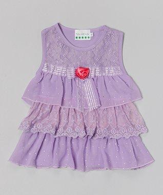 White Pearl Collar Tank & Floral Shorts - Infant, Toddler & Girls