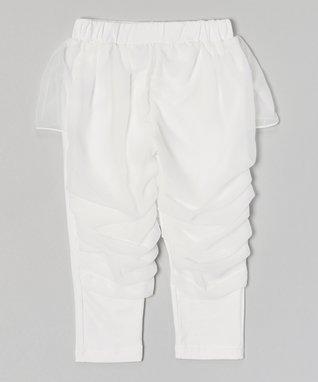 Hot Pink Skirted Ruffle Pants - Infant, Toddler & Girls