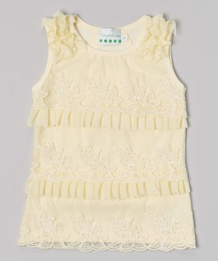 Hot Pink Pearl Rose Lace Top - Infant
