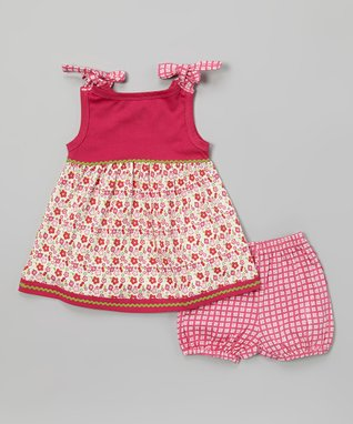 My O Baby White & Red Sailboat Organic Playsuit - Infant