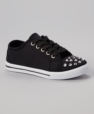 Ameta Corporation Fuchsia Star Studded Hi-Top Sneaker
