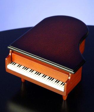 Piano Musical Ring Box