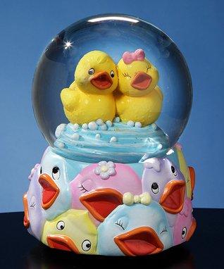 Rubber Ducky Musical Water Globe
