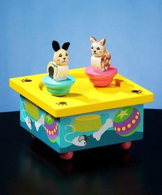 Kitty & Puppy Musical Box