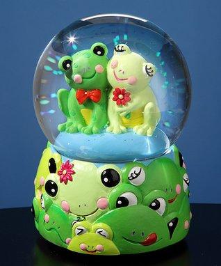 Frog Musical Water Globe